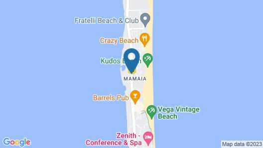 Voila Mamaia Map