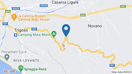 Relais San Rocco Map