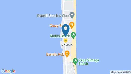 Vila Luminita Map