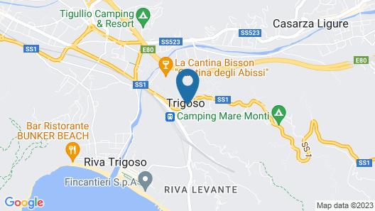 Locanda Del Borgo Map