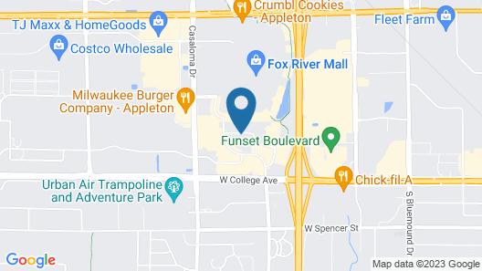 Microtel Inn & Suites by Wyndham Appleton Map