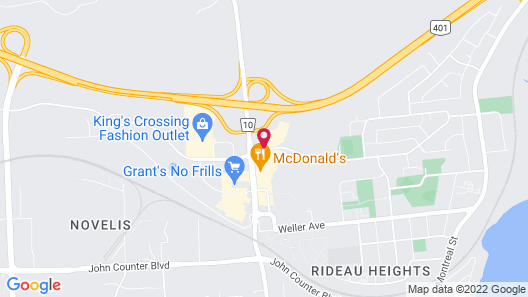 Holiday Inn Express & Suites Kingston Central, an IHG Hotel Map