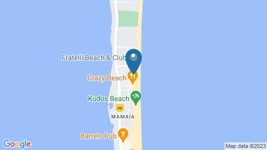 Blue Beach Studios Map