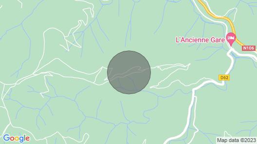 Gîte La Cigale and La Fourmi for 4 people Map