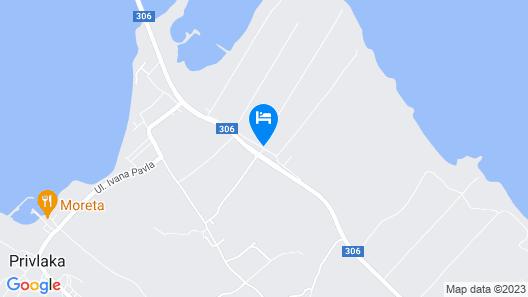 St.vid 3 In Privlaka 3 Bedroom Villa Map