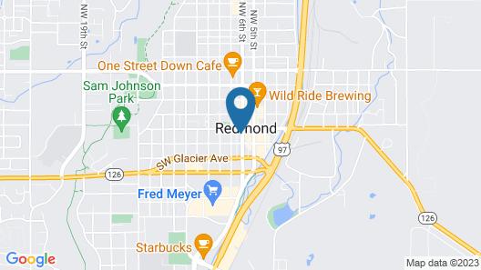 SCP Hotel Redmond Map