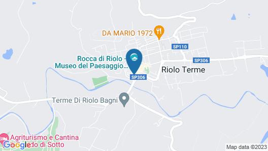 Hotel Antico Borgo Map