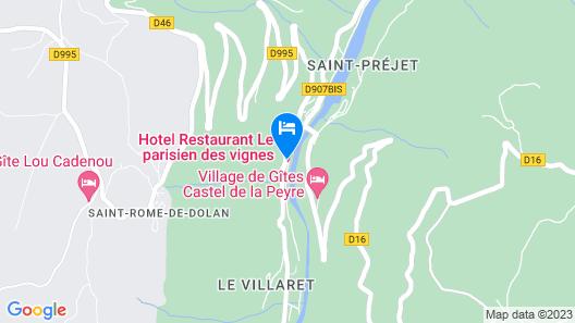 Hôtel Restaurant Le Parisien Map