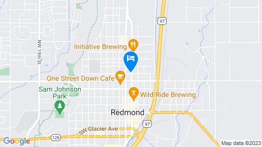 Greenway Motel Map