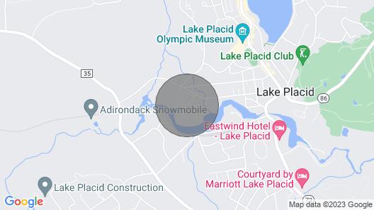 Lake Placid Village, Dog-friendly, Fire Pit, Mirror Lake: OWC Map