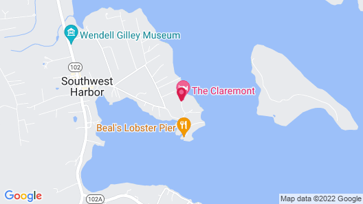 The Claremont Hotel Map