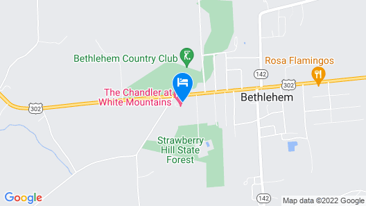 The Chandler at White Mountains, Ascend Hotel Collection Map