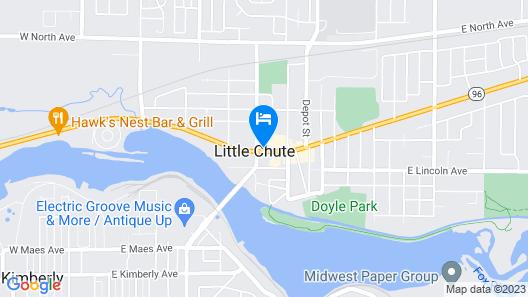 Cobblestone Hotel & Suites-Little Chute Map