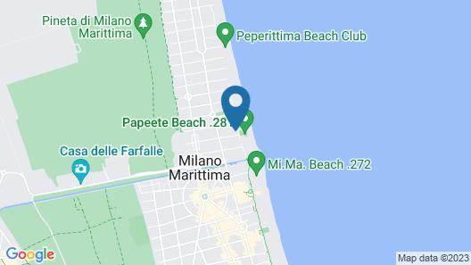 Hotel Miami Beach Map
