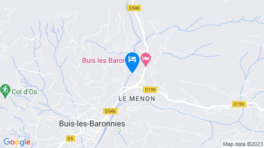 Village Vacances La Fontaine d'Annibal Map