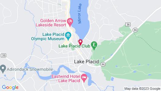 Lake Placid Inn Boutique Hotel Map