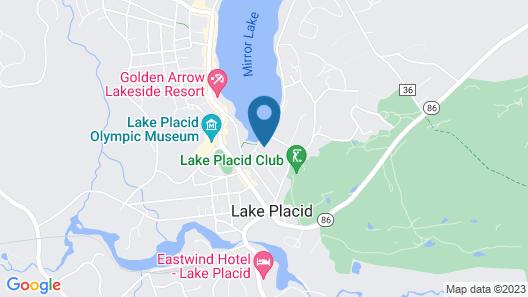 Hampton Inn & Suites Lake Placid, NY Map