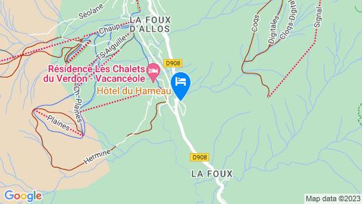 Hôtel du Hameau Map