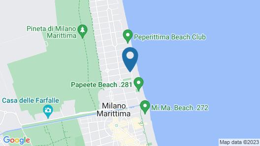 Hotel Acapulco Map