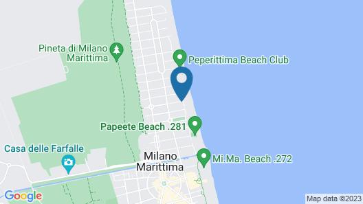 Hotel Le Palme - Premier Resort Map