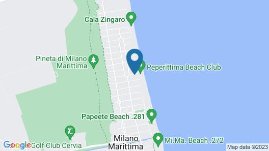 Hotel Caraibi Map