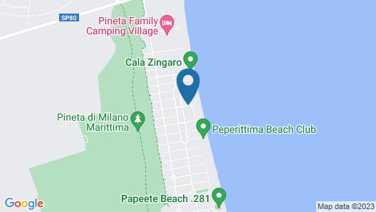 Hotel City Beach Resort Map