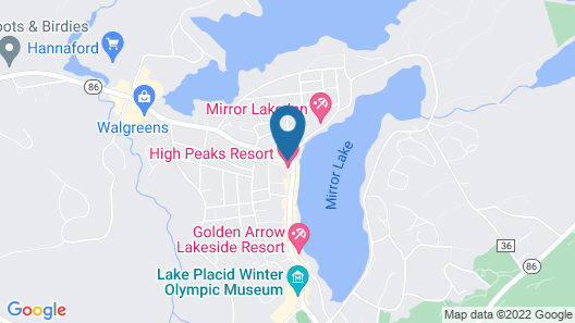Lake House Map
