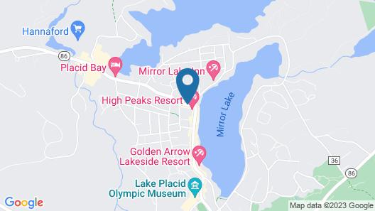 High Peaks Resort Map
