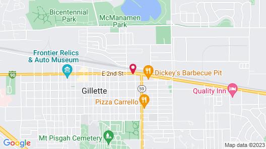 Alamo Inn & Suites Map