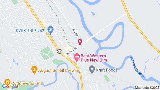 Microtel Inn & Suites by Wyndham New Ulm Map