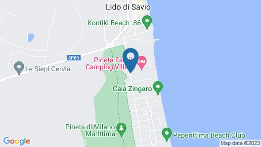 Pineta Family Camping Village Map
