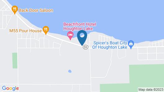 Beachfront Hotel Map