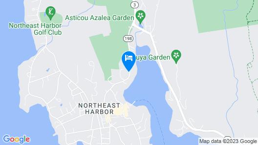 Harbourside Inn Map