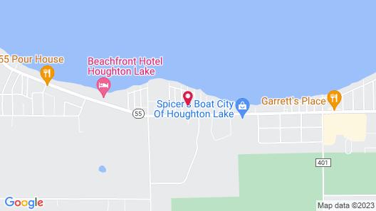 American Oak Resort Map