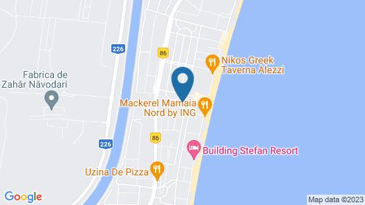 Vilele Liliana Mamaia Nord Map