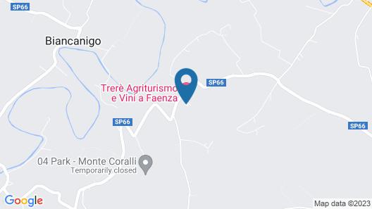 Trere Agriturismo Map