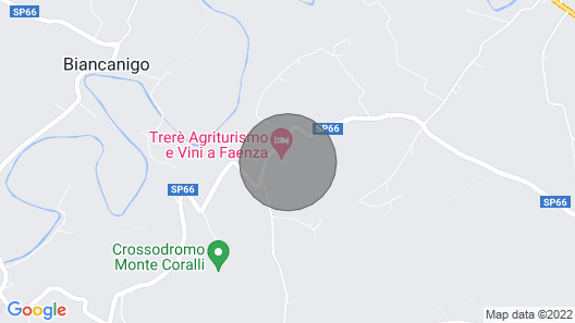 Agereurismo Trere ': Between the Sangiovese Vineyards With Pool and spa Map