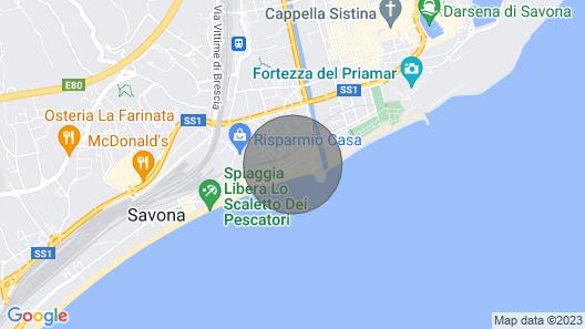 Appartamento Il Gabbiano Blu Map