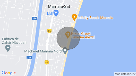 Apartamentect Alezzi Black&White 4 Map