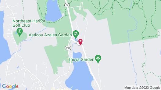 Asticou Inn Map