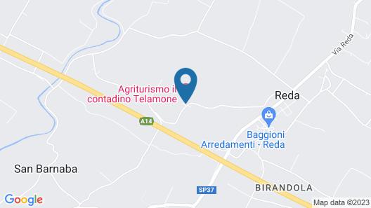 Sacramora Map