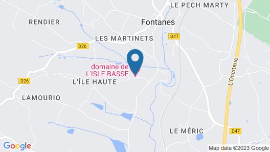 Domaine de L'Isle Basse Map