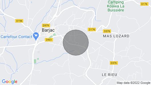 3 Bedroom Accommodation in Barjac Map