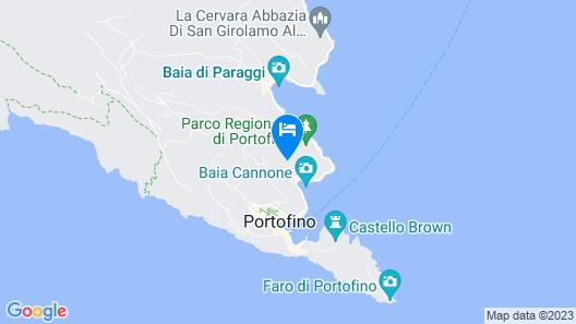 Splendido, A Belmond Hotel, Portofino Map