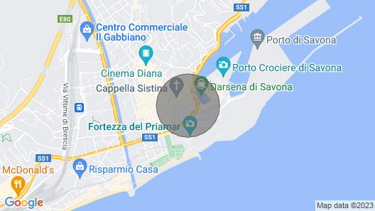 Appartamento La Perpetua Map
