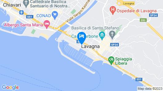 Blu Hotel Map