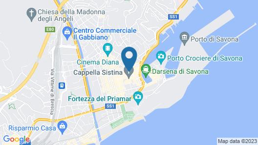 Appartamento Piazza della Maddalena Map