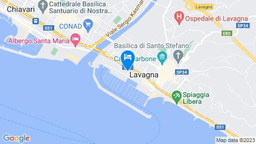 Hotel Ancora Riviera Map