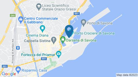 NH Savona Darsena Map