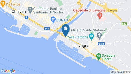 Hotel Sud Est Map